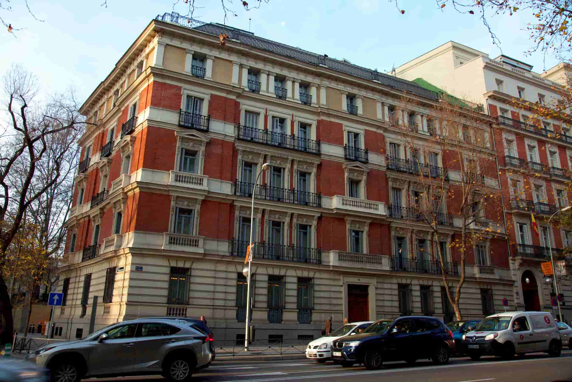Edificio de la sede PSN en Madrid